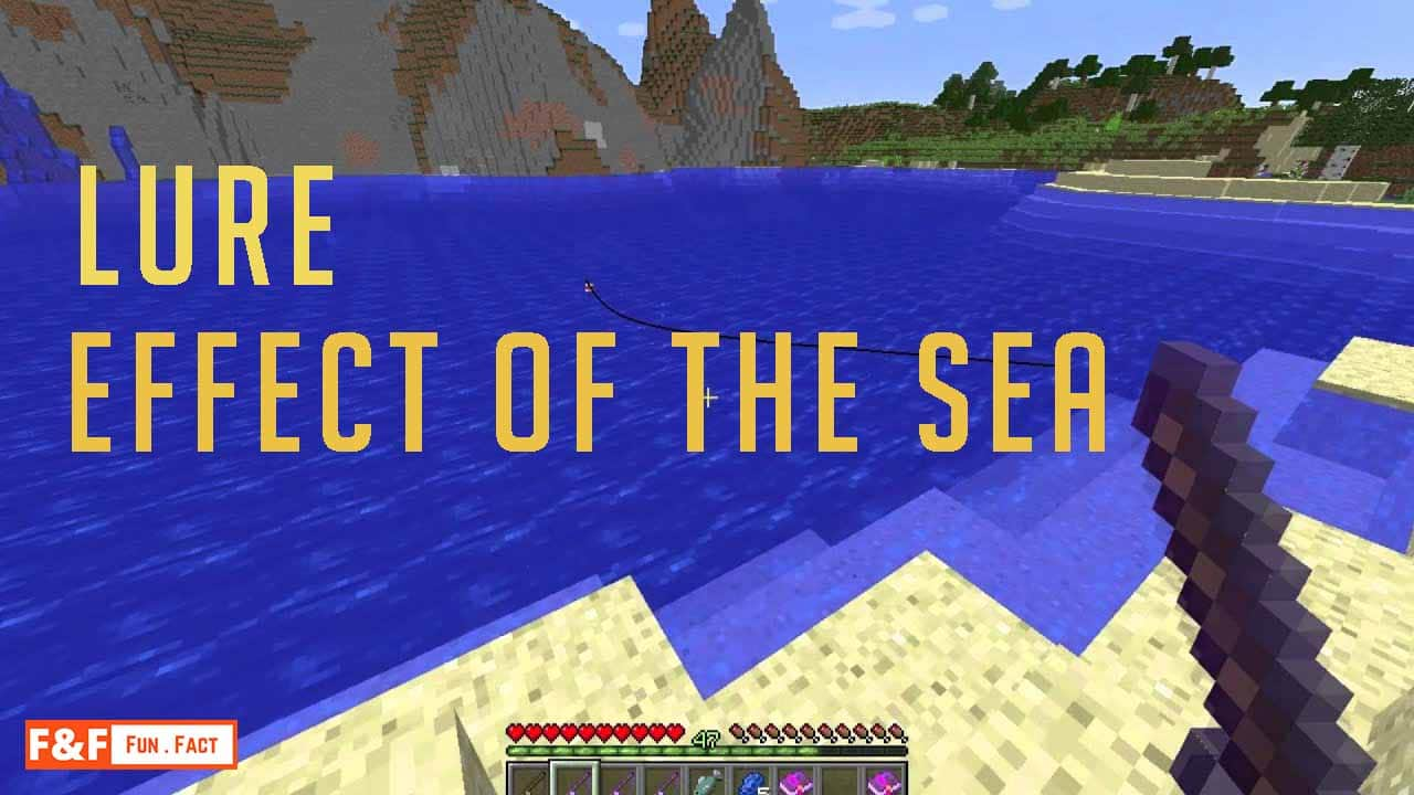 what does lure do in Minecraft?