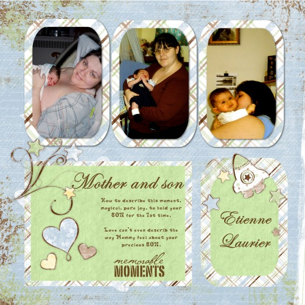 20 Baby Boy Digital Scrapbook Kit Pictures And Ideas On Carver Museum