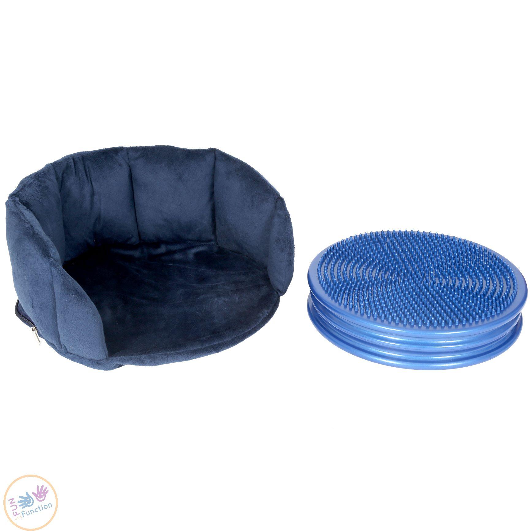 Wiggle seat and cushion