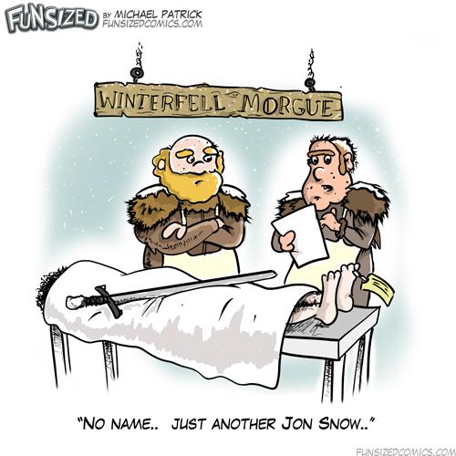 game of thrones jon snow died john doe morgue death