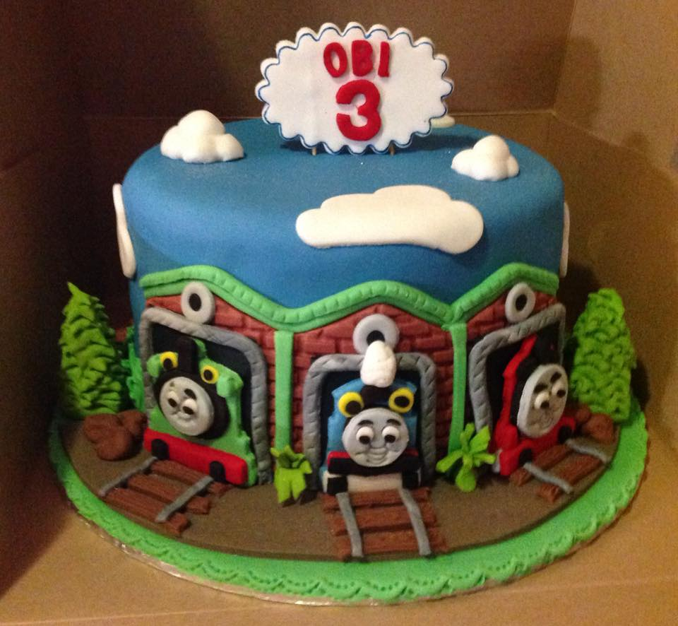 Thomas Train Cake Funtacee Parties