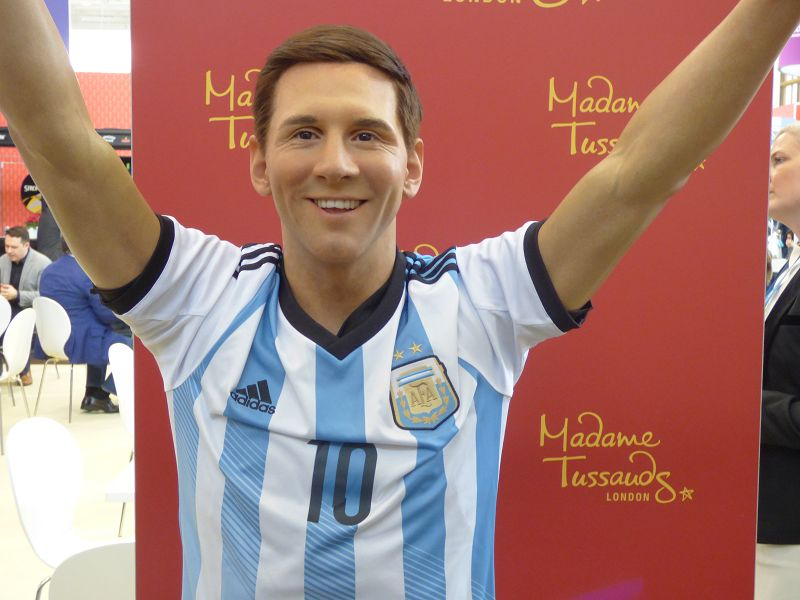 Messi ist beliebtes Fotomodell auf der ITB 2017