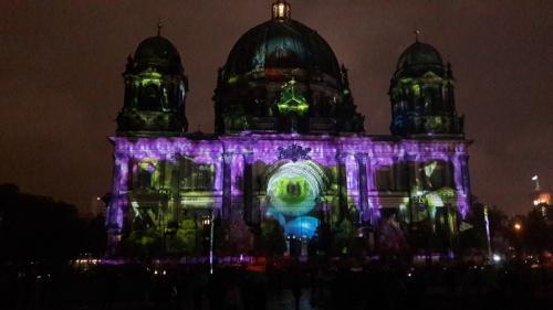 k-Berliner Dom beleuchtet beim Festival Of Lights (16)