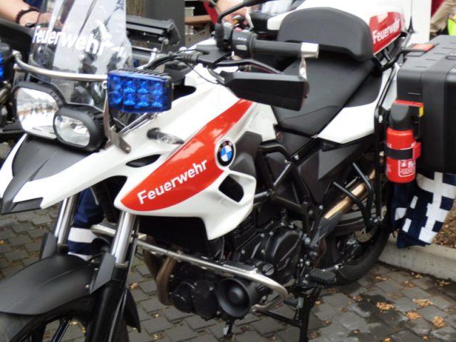 Motorrad Feuerwehr