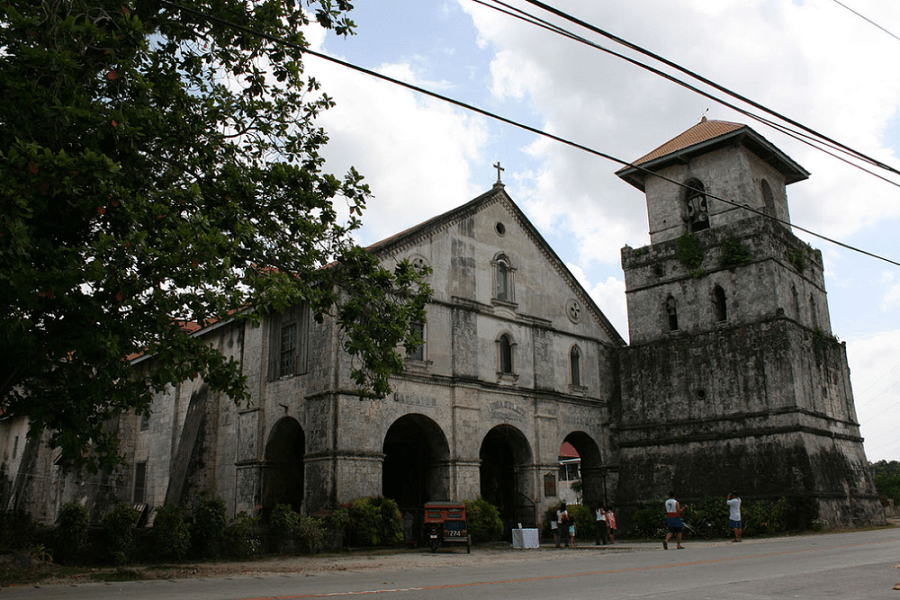 Baclayon Church Before The Quake