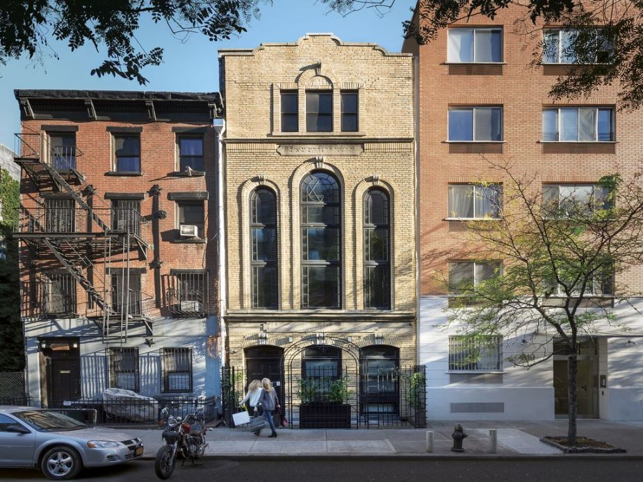 Converted synagogue: A stunning modern penthouse with celebrity status