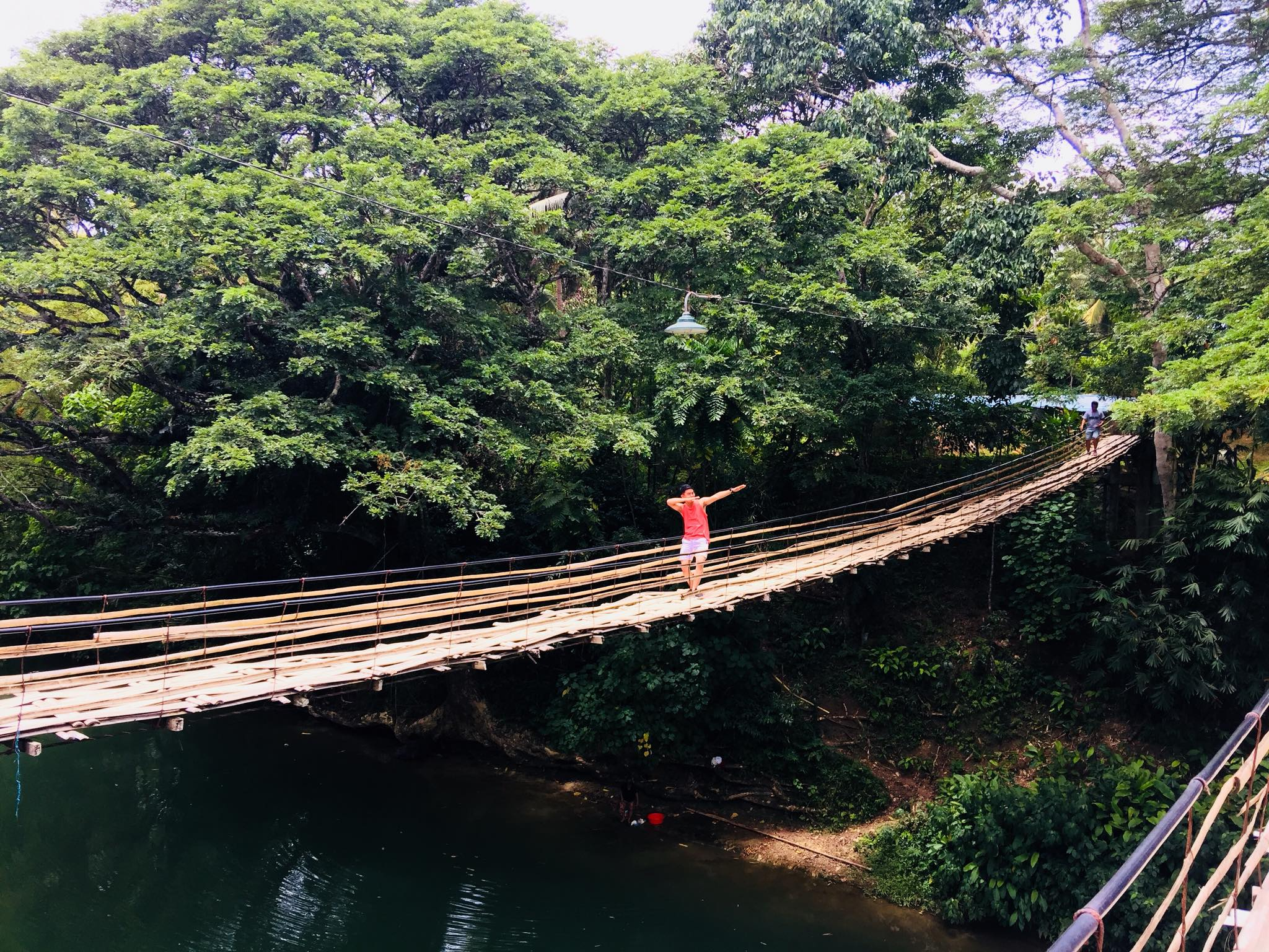 Twin Hanging Bridge - Sevilla, Bohol