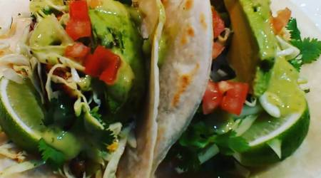 495 JULY 18, 2017 ADAPTABLE RECIPES quick & easy fish (or tofu) tacos w/ cilantro lime cabbage slaw