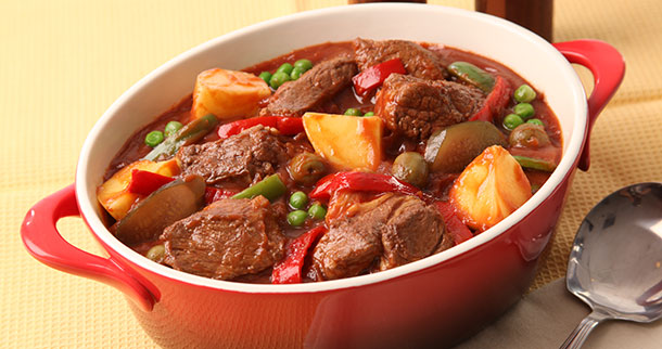 Mouth Watering Beef Caldereta