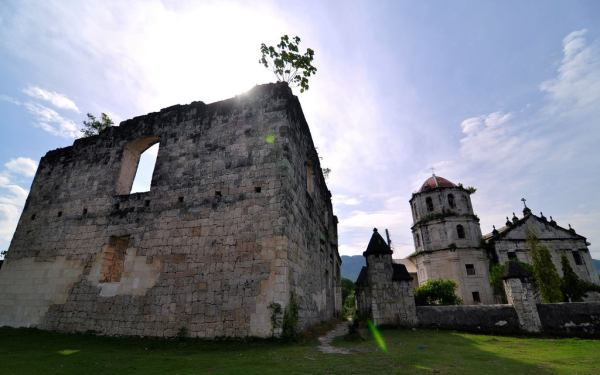 THE RUINS AND OLD CHURCH OF OSLOB Cuartel, Oslob, Cebu