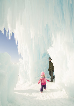 Ice Castles Parent and Child