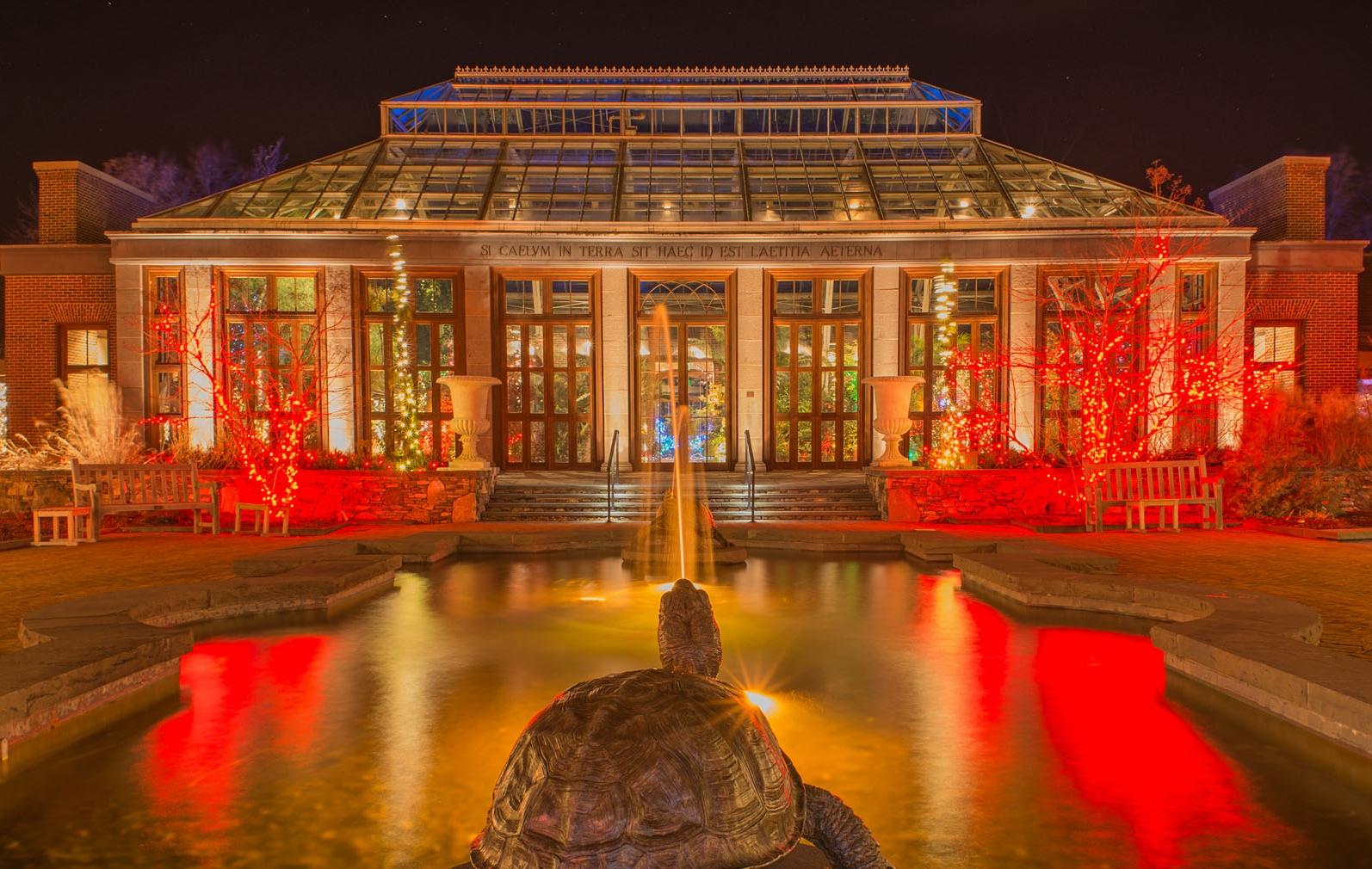 tickets for tower hill botanic garden u0027s winter lights display on