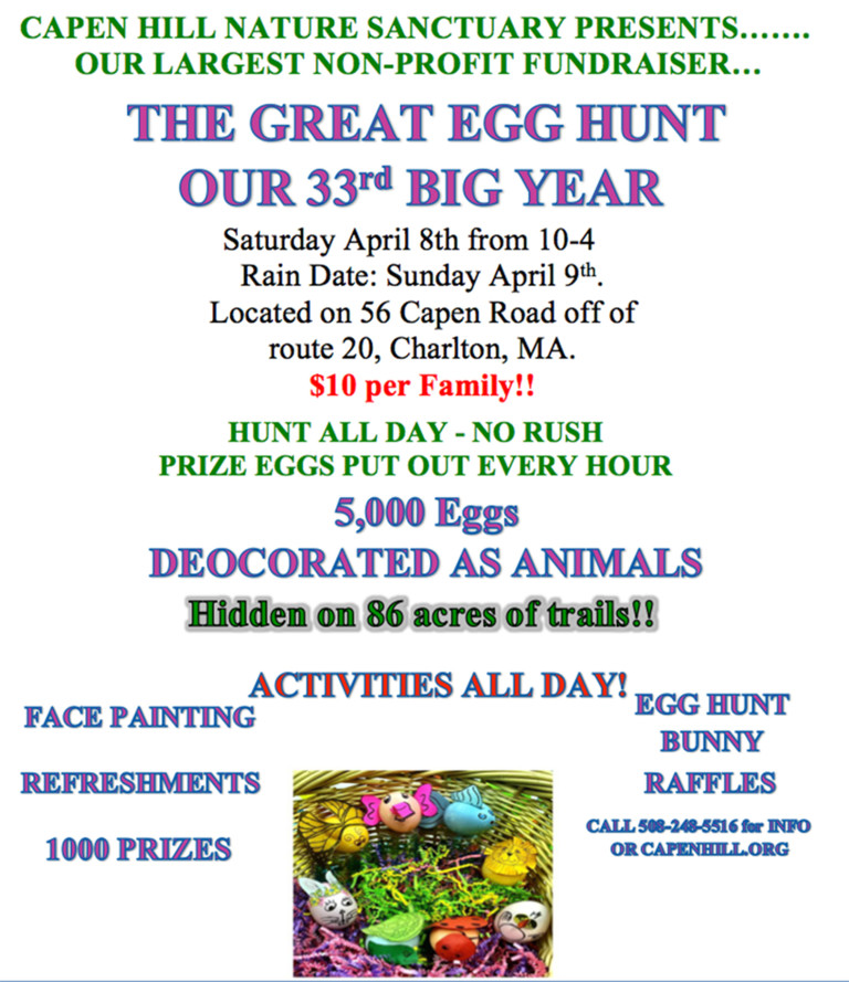Capen Hill Easter Egg Hunt
