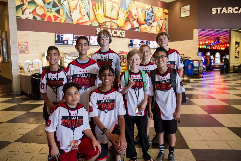 SLG Minecraft City Champs Team