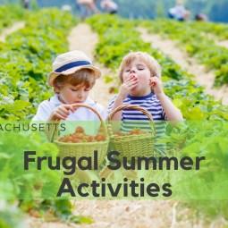 Frugal Summer Activities Massachusetts