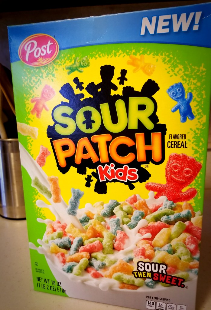 Sour Patch Kids Cereal Box - Fun Things to do in Central Mass