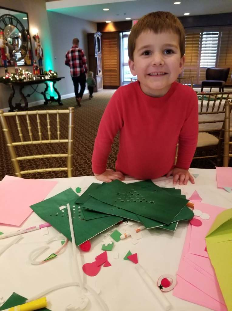 The International Golf Club and Resort - Brunch with Santa - Kids Craft Table
