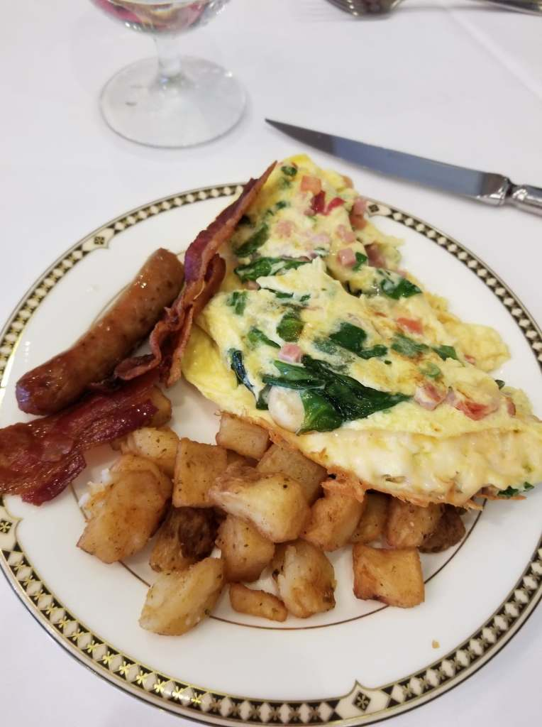 Brunch with Santa - Omelette