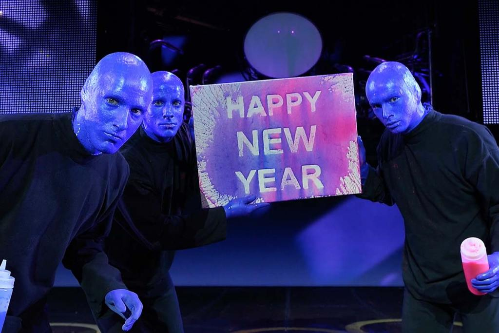 Happy New Year - Blue Man Group