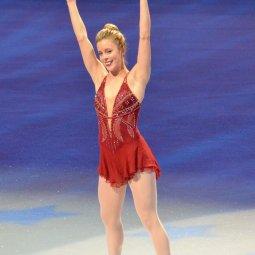 Ashley Wagner Ice Skating