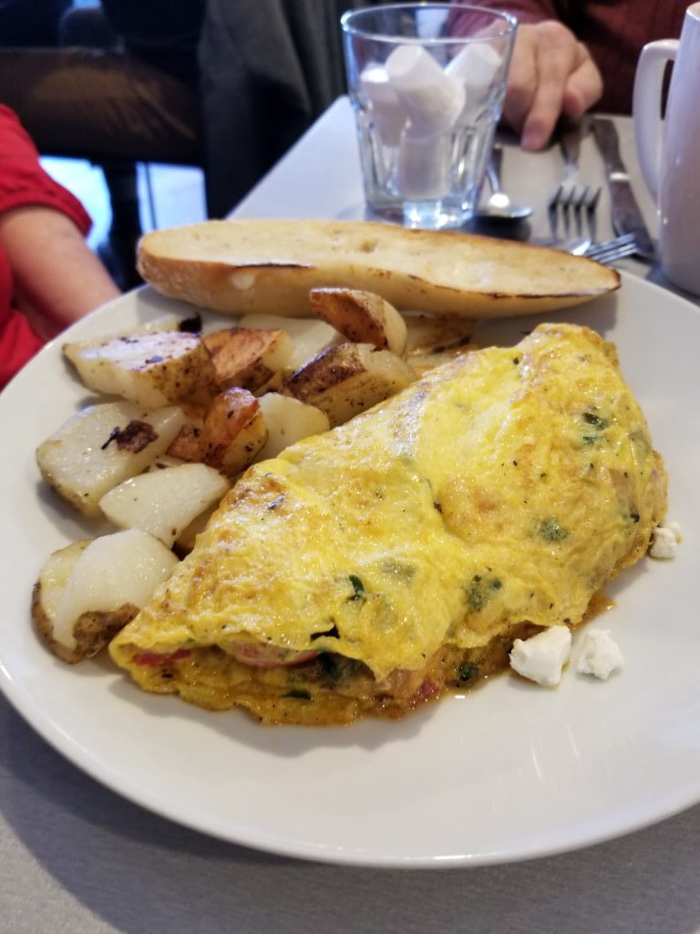 Vegetable Harvest Omelet - Altea's Eatery