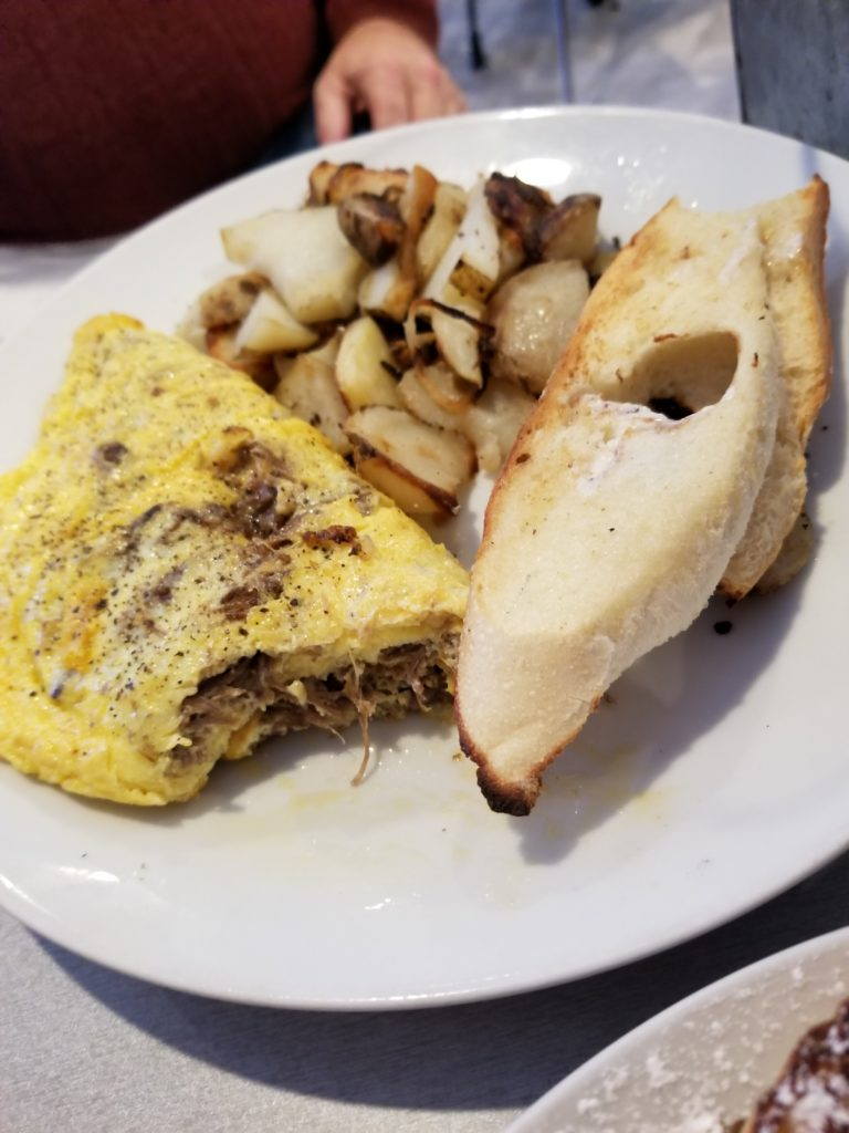 Short Rib Omelete - Altea's Eatery