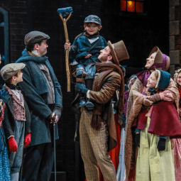 Celebrate the holiday season with New England's largest production of Charles Dickens' A Christmas Carol at The Hanover Theater