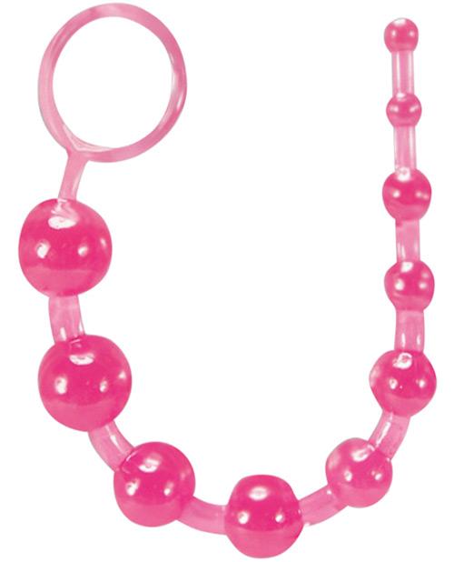 Blush sassy anal beads