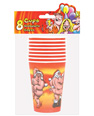 Mr. & mrs. claus dancing naked cups