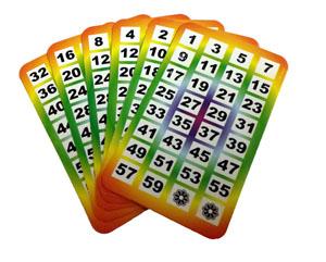 Age Cards Multicolor
