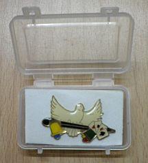 Lapel Pin - Doves