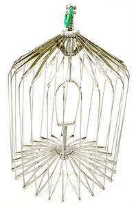 large production birdcage-full