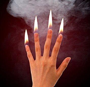 Flames at Finger Tips
