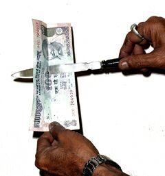 knife through bill