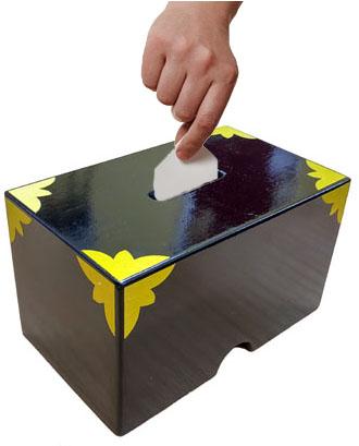 Billet Change Box