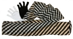 Gloves to Zebra Streamer