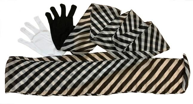 Gloves to Zebra Streamer