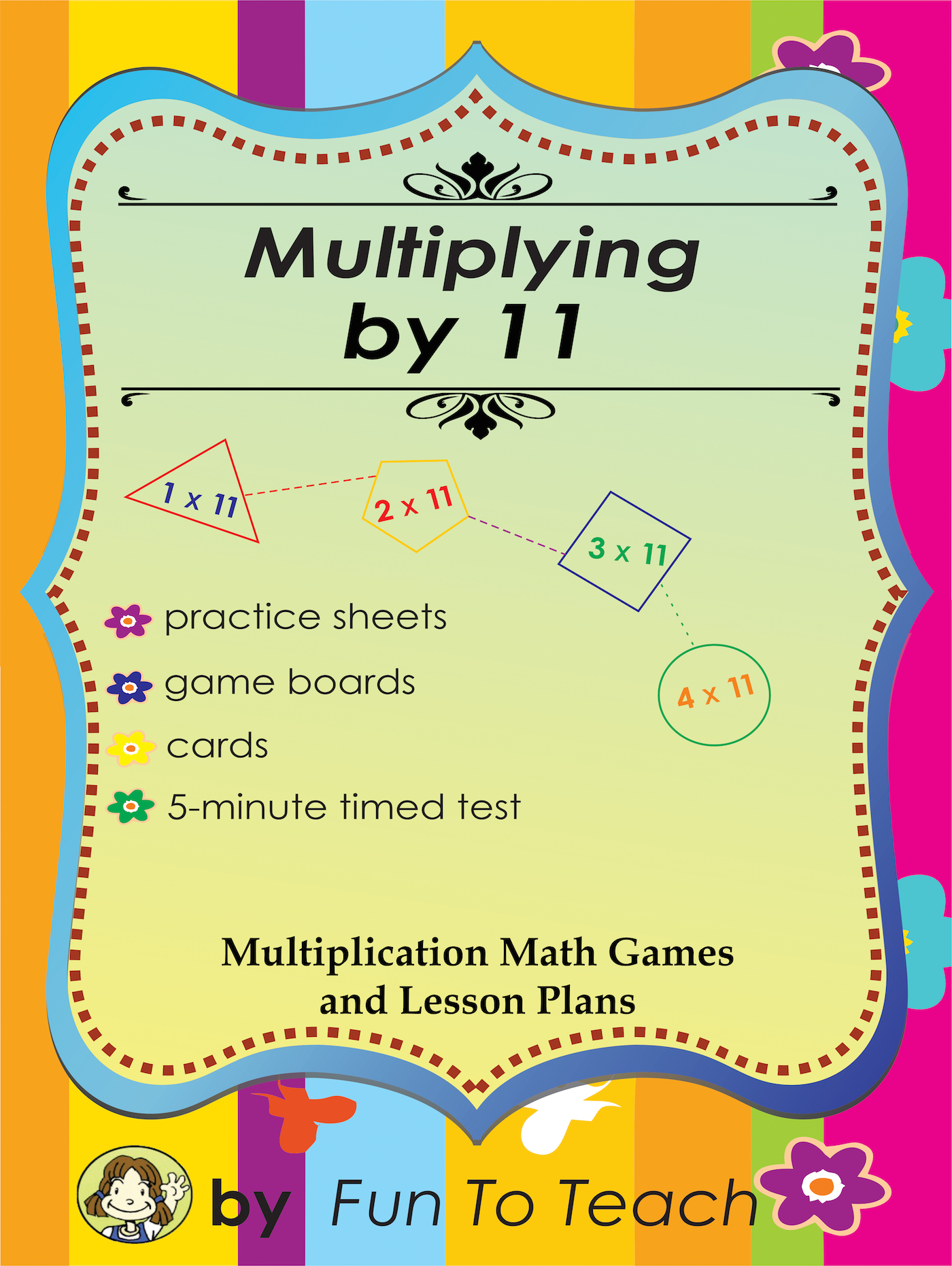 Multiplying By 11 Math Games Activities And Lesson