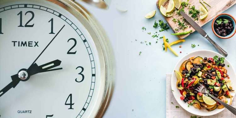 Eating schedule - Eat more in the day, less at night