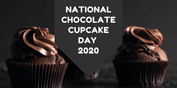 National Chocolate Cupcake Day 2020