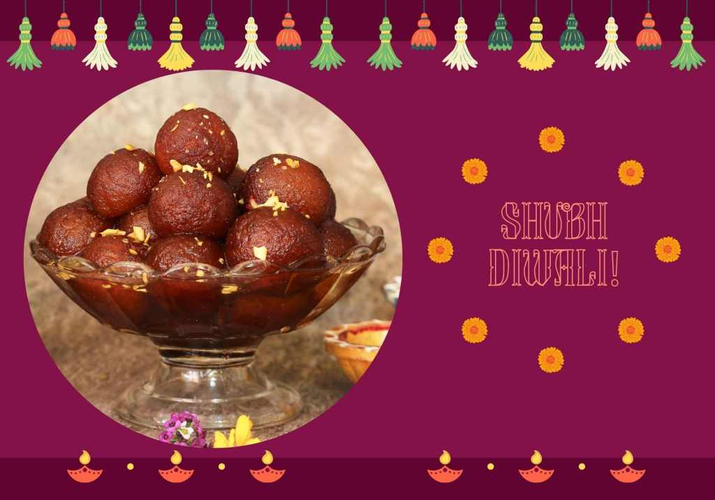 Celebrate Diwali with Gulab Jamun