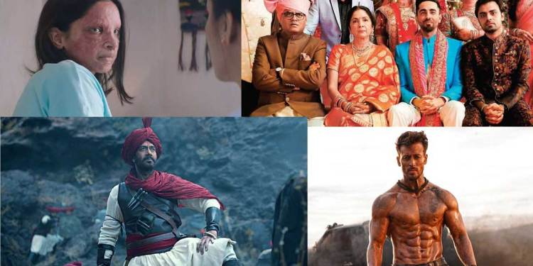 Highest Grossing Top 10 Bollywood Movies of 2020