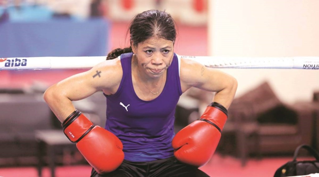 Mangte Chungneijang Mary Kom- Top Indian Celebrities Who Follow Christianity