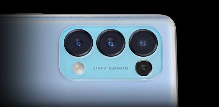 Oppo Reno 5 Pro 5G camera