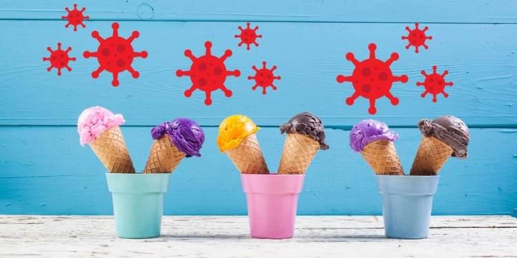 Coronavirus in Ice Cream samples in China