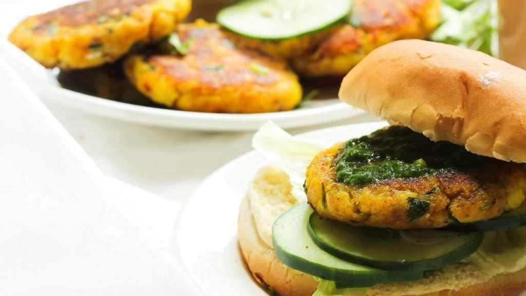 Soya Paneer Tikki Sandwich