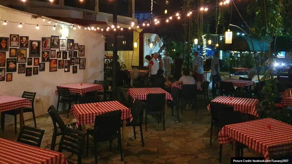 Best Restaurants in Goa: Tuscany Gardens