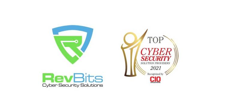 RevBits recognized as a top 10 Cybersecurity Solutions Provider in 2021