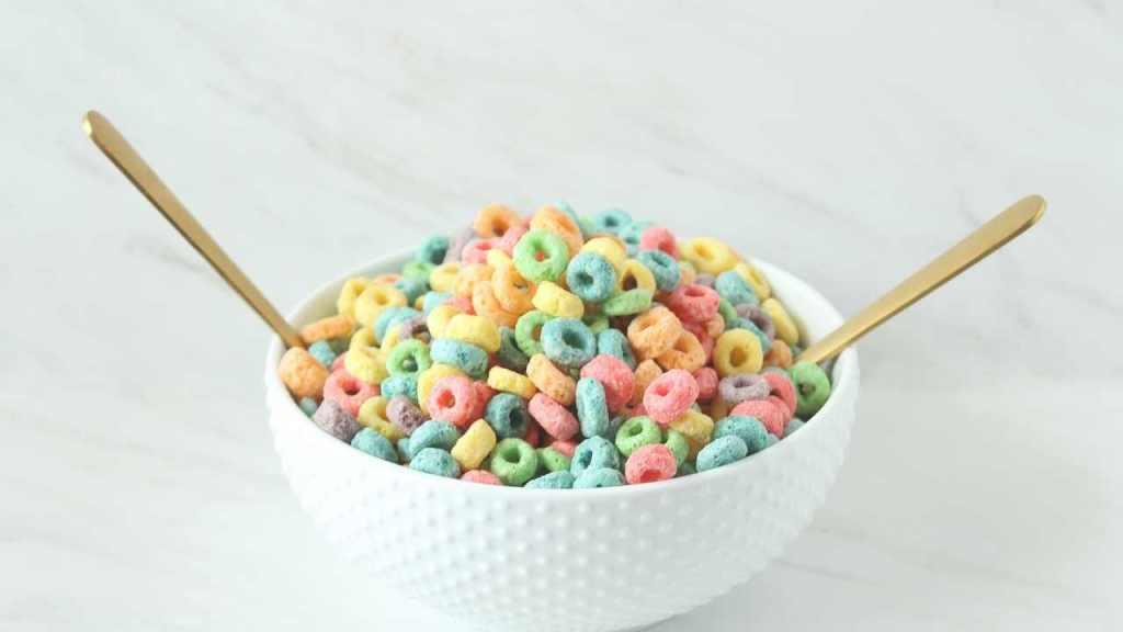 Sugar cereals