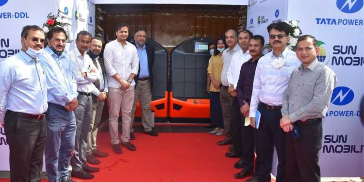 Tata Power-DDL announced today its partnership with SUN Mobility to set up a network of Battery Swap Points™ across North and North-West Delhi.